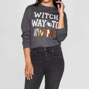 🍷🍁🎃WITCH WAY TO THE WINE HALLOWEEN/FALL SHIRT